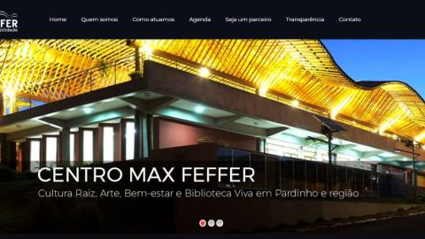 Novo site do Centro Max Feffer