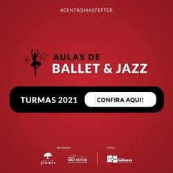 Classificação do Ballet/Jazz 2021 no Centro Max Feffer