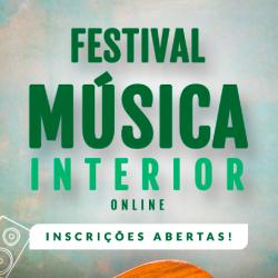 Festival Música Interior Online vai premiar artistas de Pardinho e região